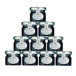 Tiptree Mini Black Currant Jam 28g x 10 bottles