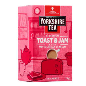 Yorkshire Toast & Jam Brew 40 Tea Bags