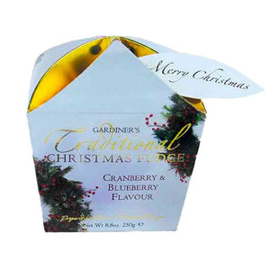 Gardiners Cranberry & Blueberry Christmas Carton (Wreath) 250g