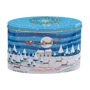 Gardiners Christmas Night Scene Vanilla Fudge Tin 300g