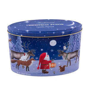 Gardiners Christmas Santa & Moon Vanilla Fudge Tin 300g