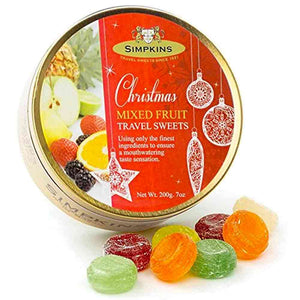 Simpkins Christmas Mixed Fruit Travel Sweets 200g