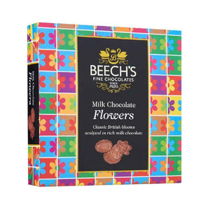 Beech's Fine Chocolates Milk Chocolate flowers, sculpted in rich milk chocolate