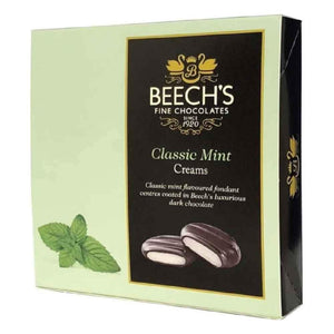 green box of Beech's Classic Mint Creams