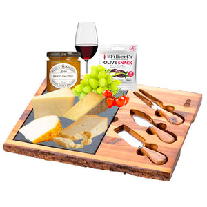 DISCERNING - Four assorted cheeses (150g x4) with Free Gift