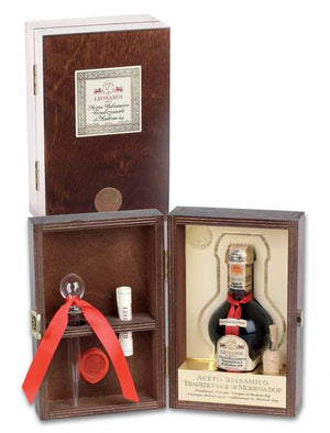 Leonardi Balsamic Vinegar aged 15 years in wooden giftbox