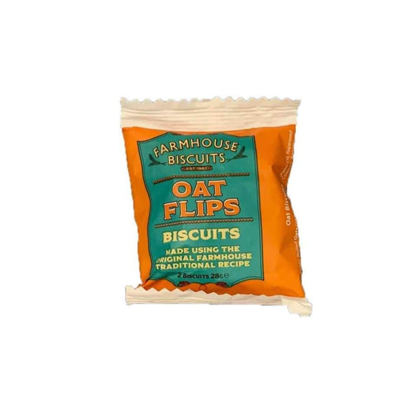Farmhouse Biscuits Oat Flips Biscuits Twin Pack 28g Gourmet Grocery By Ourchoice
