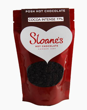 Sloane's Cocoa Intense 77% Hot Chocolate 150g