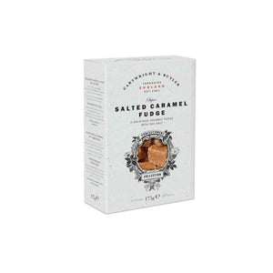 Cartwright and Butler Salted Caramel Fudge Carton 175g