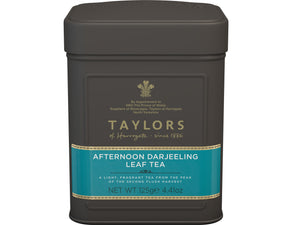 Taylors Of Harrogate Afternoon Darjeeling Tea Leaf in Caddy 125g