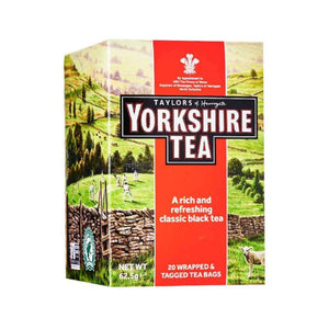 Yorkshire Tea 20 tea sachets in a stylist designed box