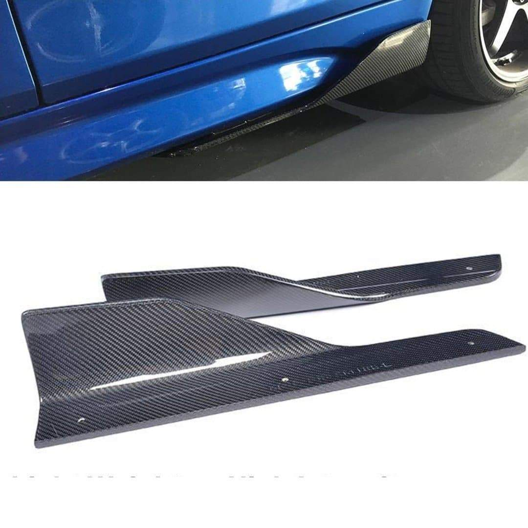 Carbon Fiber Side Skirt Wing Canards for BMW 3-Series F30/F31