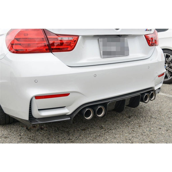 Carbon Fiber Rear Diffuser Extended for BMW F80 M3 and F82/F83 M4 - ONVY Motorsport
