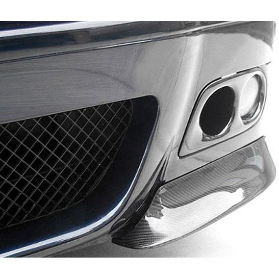 Carbon Fiber Fog Light Trim for BMW E46 M3