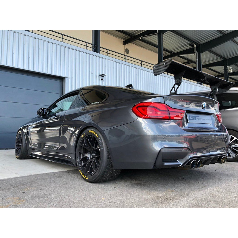 Carbon Fiber Clubsport Rear Diffuser for BMW F80 M3 and F82/F83 M4 - ONVY Motorsport