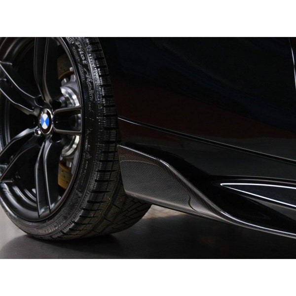 Carbon Fiber Side Skirt Canards for BMW M2 F87 - ONVY Motorsport