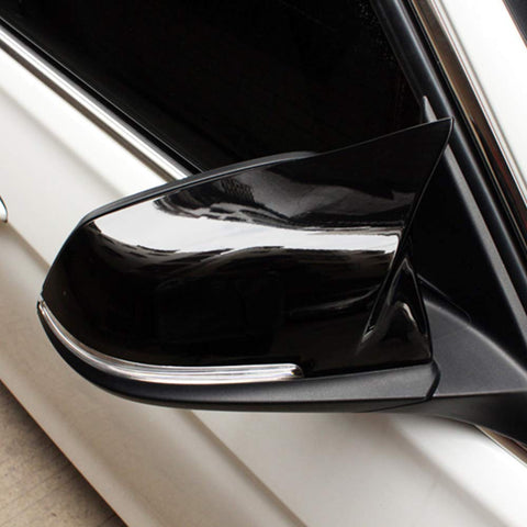 Gloss Black Performance Side Mirror Replacement Caps for BMW 1-Series F20/F21, 2-Series F22/F23, 3-Series F30/F31, 4-Series F32/F33/F34/F36, M2 F87 - ONVY Motorsport