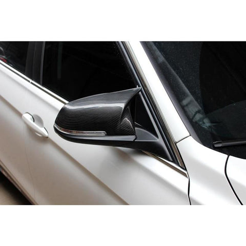 Carbon Fiber Performance Side Mirror Replacement Caps for BMW 1-Series F20/F21, 2-Series F22/F23, 3-Series F30/F31, 4-Series F32/F33/F34/F36, M2 F87 - ONVY Motorsport