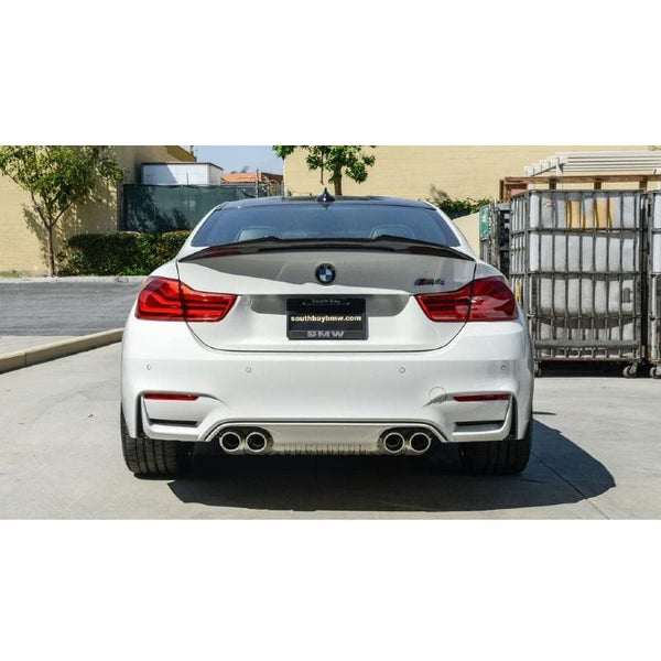 Carbon Fiber Trunk Spoiler for BMW M4 F82 2014- - ONVY Motorsport