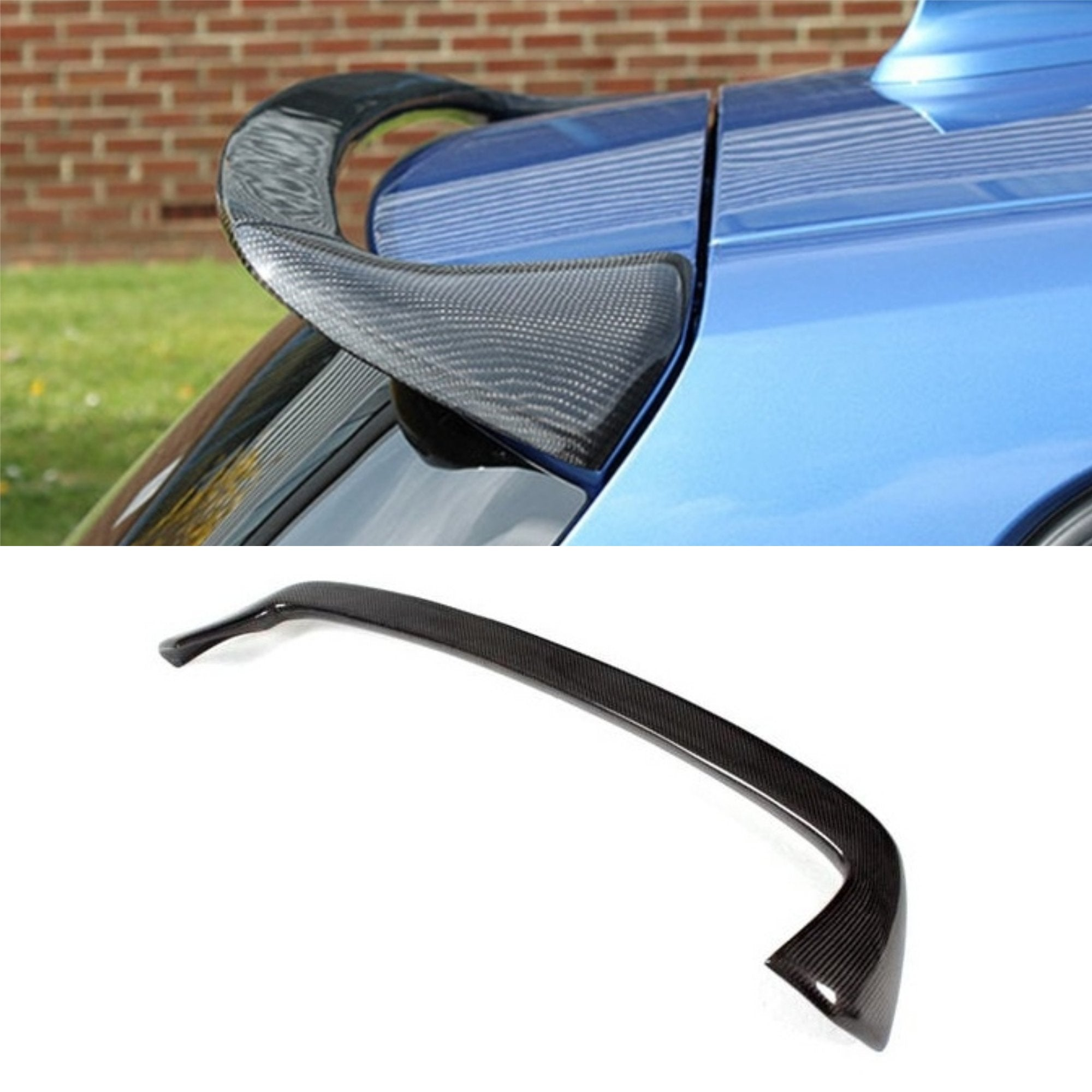 Carbon Fiber Roof Spoiler Type 2 for BMW 1-Series 2012-2018