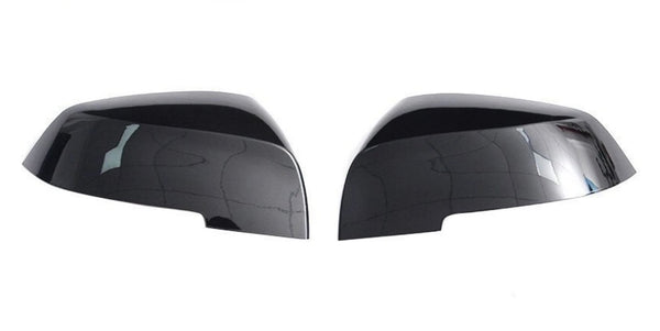 Gloss Black Side Mirror Replacement Caps for BMW 1-Series F20/F21, 2-Series F22/F23, 3-Series F30/F31, 4-Series F32/F33/F34/F36, M2 F87 - ONVY Motorsport