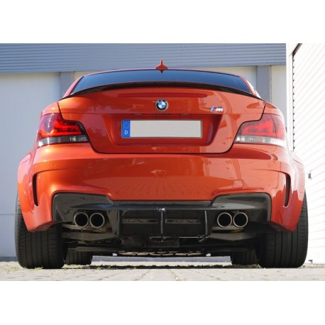 Carbon Fiber Rear Diffuser for BMW E82 1M Coupé