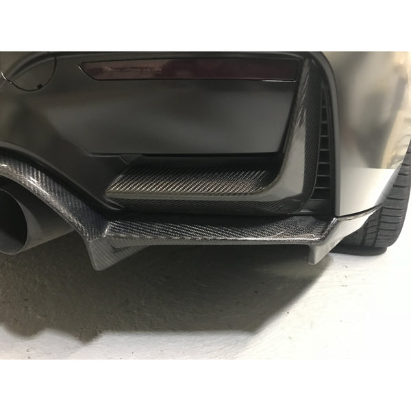 Carbon Fiber Rear Bumper Splitters for BMW F80 M3 & F82/F83 M4
