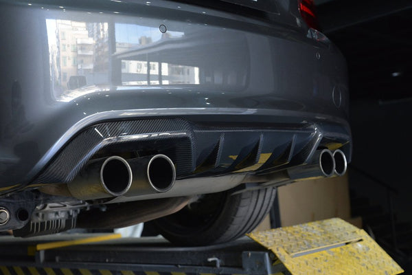 Carbon Fiber Rear Diffuser Type 3 for BMW F87 M2