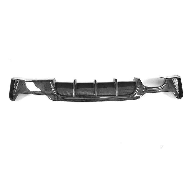 Single Side Twin Exhaust Carbon Fiber Rear Diffuser for BMW F32/F33/F36 4-Series M-Sport