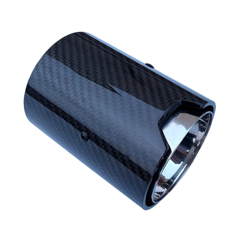 Carbon Fiber Stainless Steel M Exhaust Tips for BMW