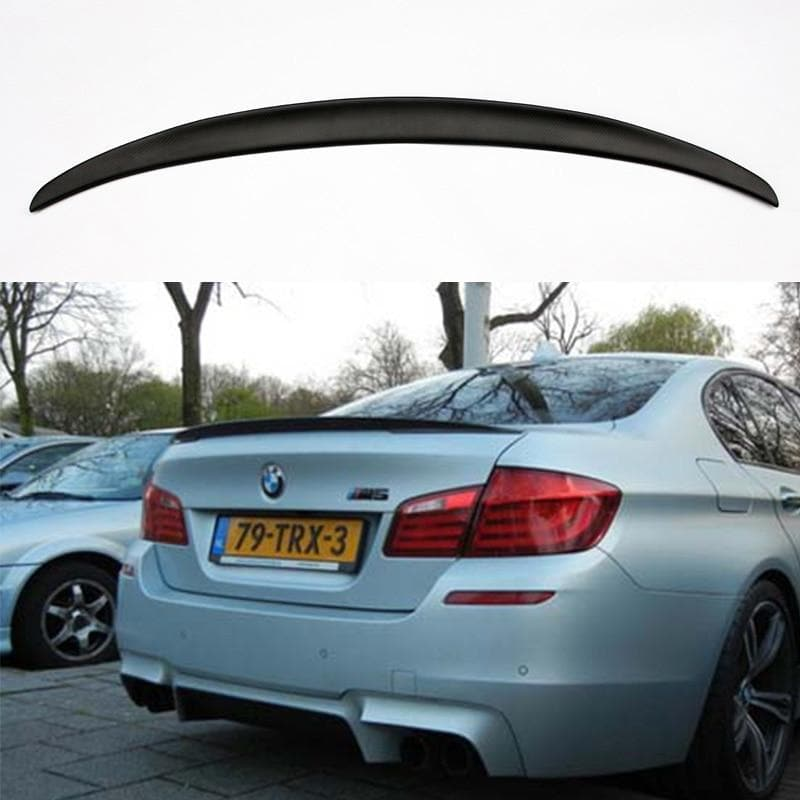 Matte Carbon Fiber Lip Spoiler for BMW F10 M5 and 5-Series 2011-2016