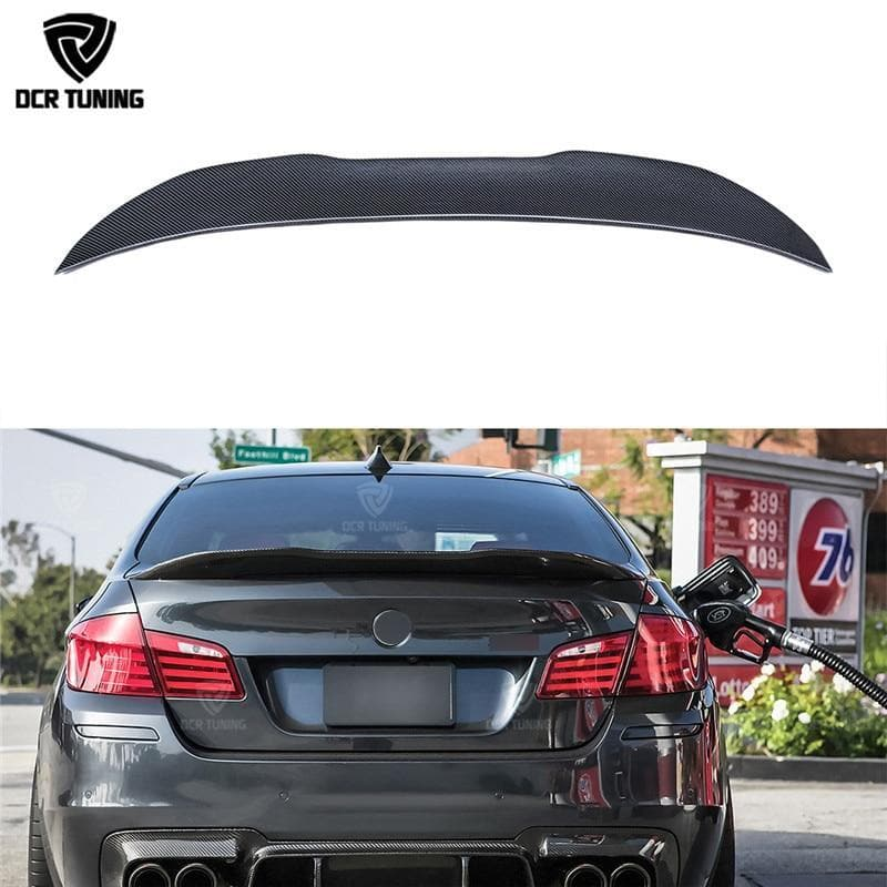 Carbon Fiber Trunk Spoiler for BMW F10 M5 and 5-Series 2011-2016
