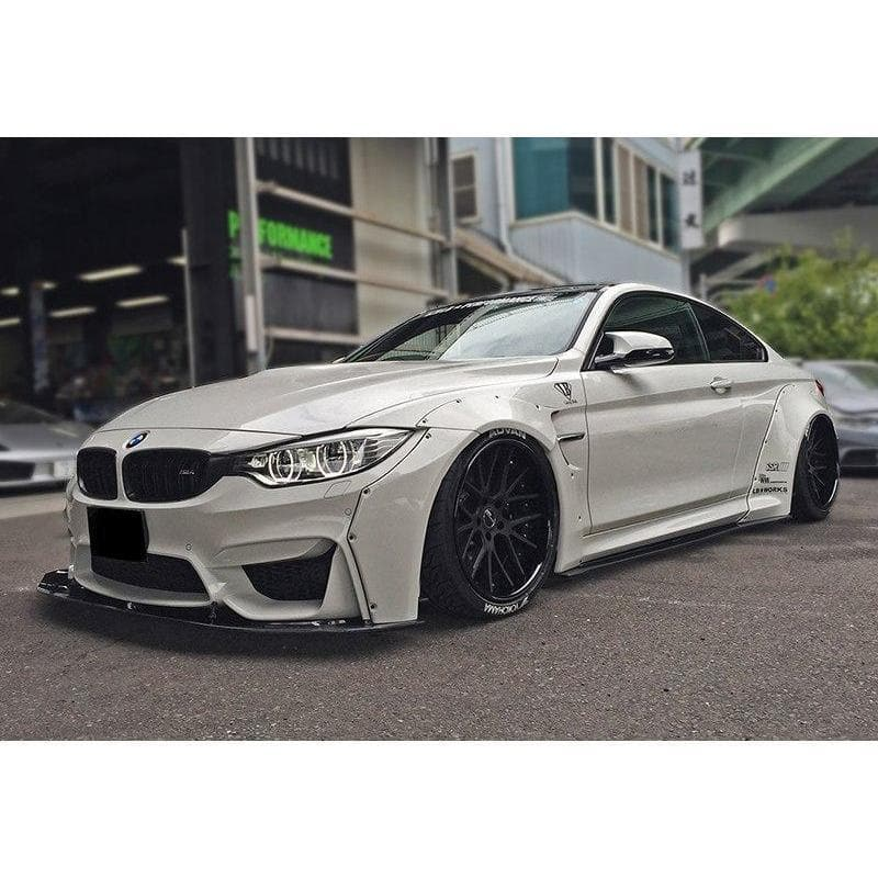Full Liberty Walk Style Widebody Kit For Bmw F82 M4