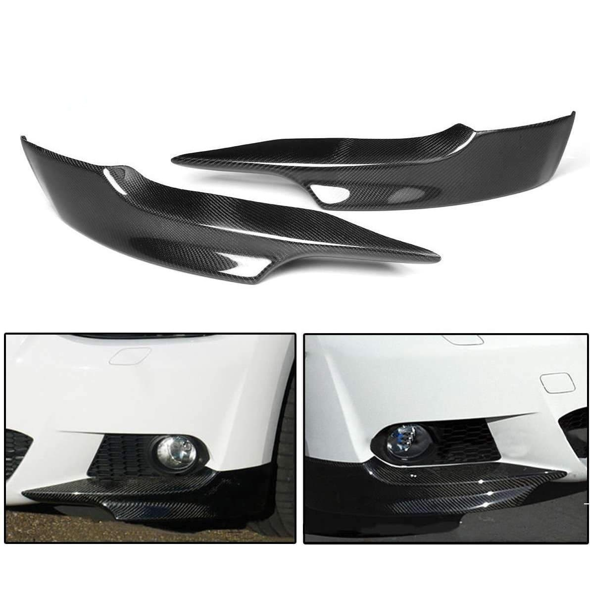 Carbon Fiber Front Splitters for BMW E92/E93 2007-2010 M-Sport