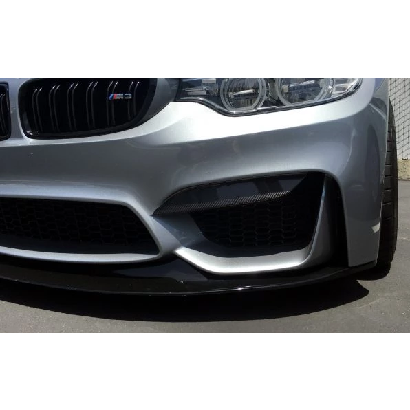 Carbon Fiber Upper Front Bumper Splitters For BMW F80 M3 and F82/F83 M4