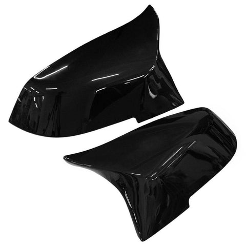 Gloss Black M-Style Side Mirror Replacement Caps for BMW 1-Series F20/F21, 2-Series F22/F23, 3-Series F30/F31, 4-Series F32/F33/F34/F36, M2 F87 - ONVY Motorsport