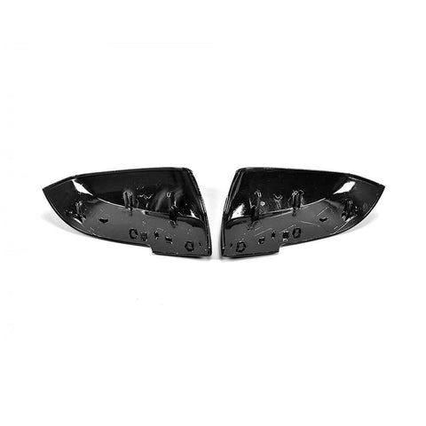 Carbon Fiber Side Mirror Replacement Caps for BMW 1-Series F20/F21, 2-Series F22/F23, 3-Series F30/F31, 4-Series F32/F33/F34/F36, M2 F87