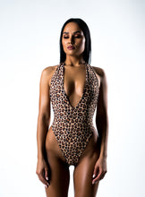 Load image into Gallery viewer, Leopard Joint Swimsuit