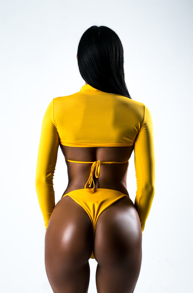 Yellow Tripple Swimsuit