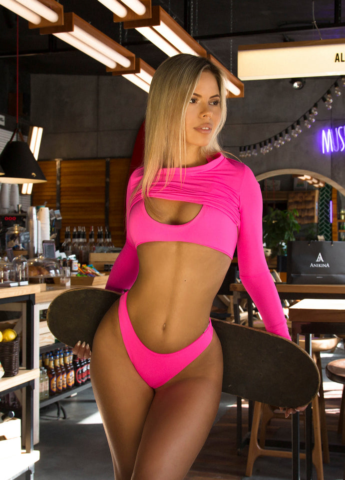 Fuchsia Triple Swimsuit