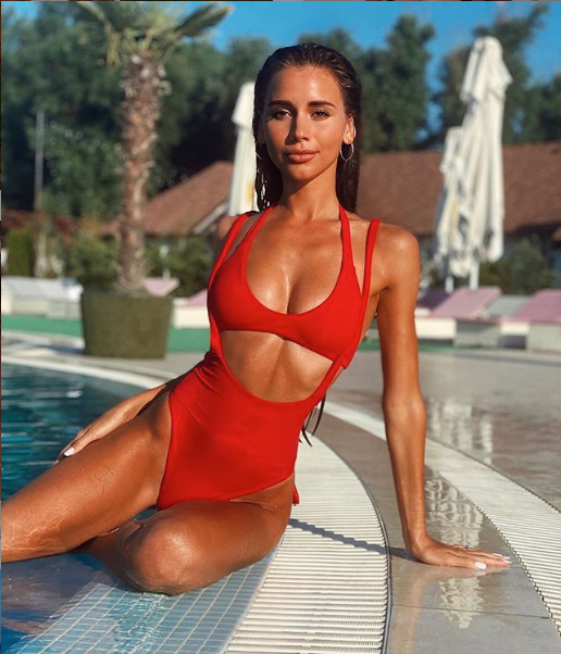 Red Body Swimsuit