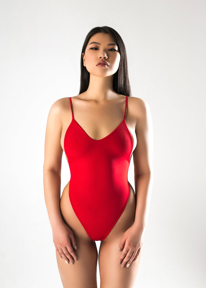 Red Joint Swimsuit