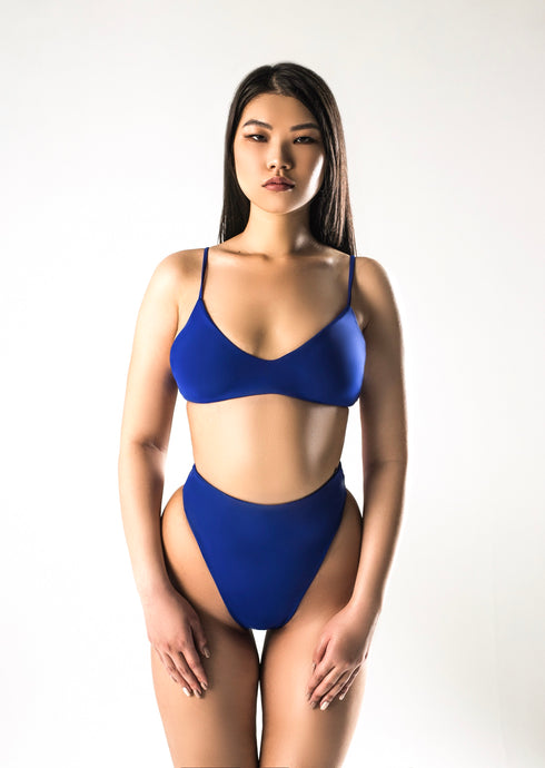 Electric Split Swimsuit
