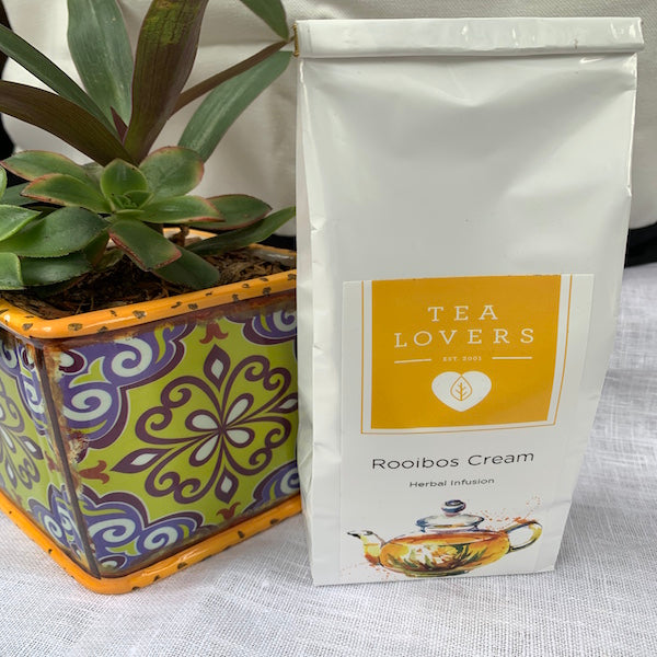 Tea Lovers Rooibos Cream Vanilla & Caramel