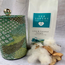 Load image into Gallery viewer, Tea Lovers Green Tea Lime & Coconut Delight