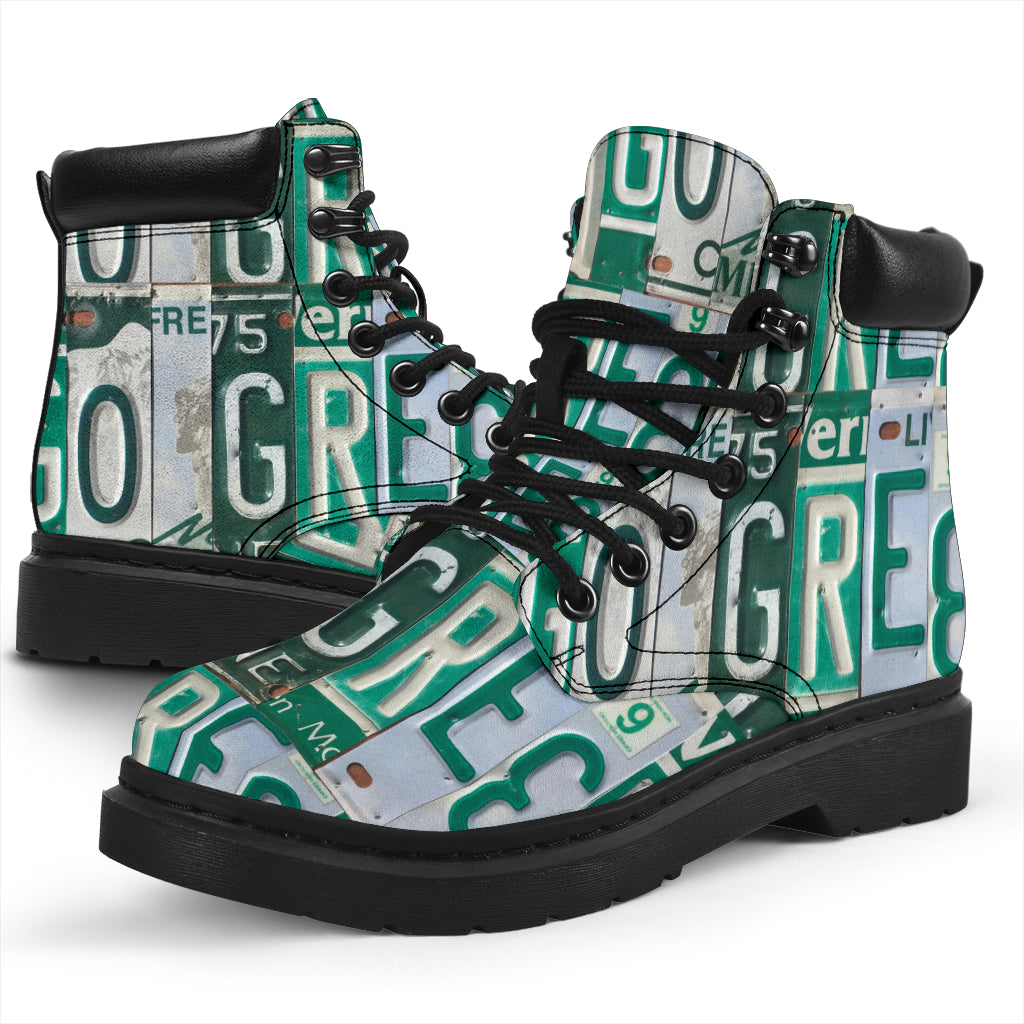womens boots go green