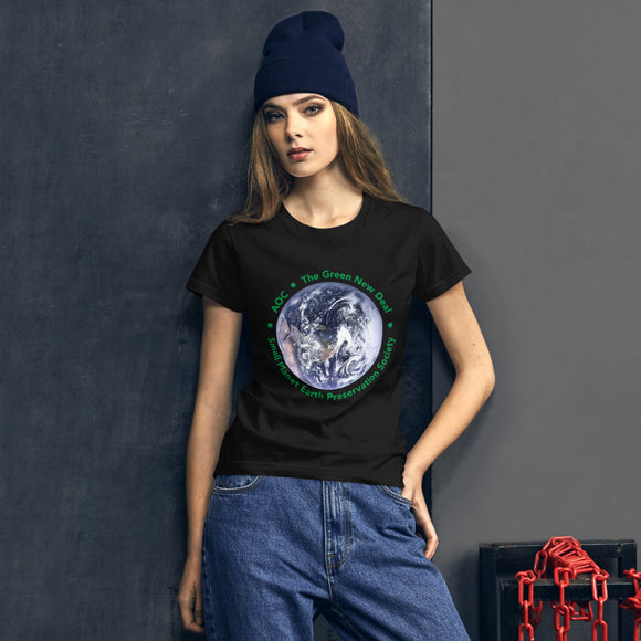 AOC The New Green Deal Women's T-Shirt