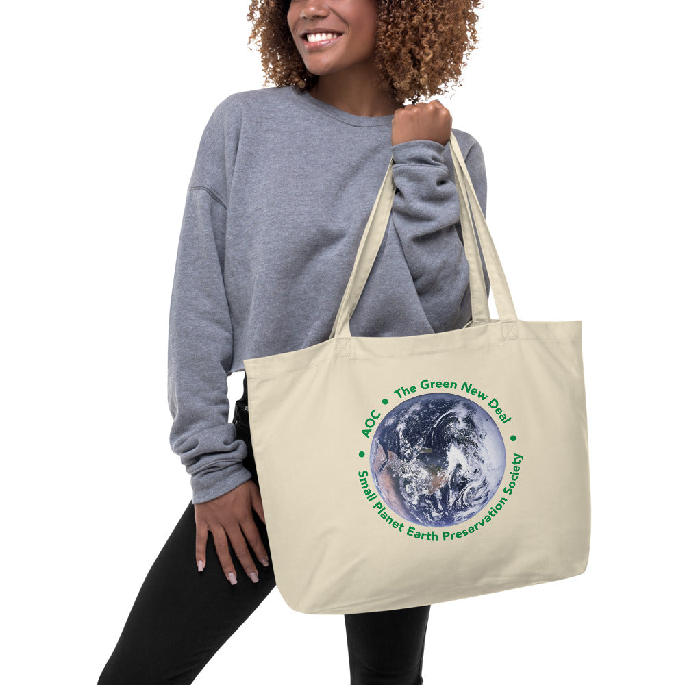 tote bag organic large aoc