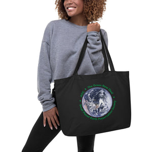 tote bag large organic aoc