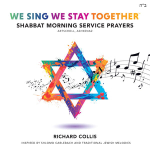 WeSingWeStayTogether, Sheet music ALL 64 Shabbat Morning Service Prayer tracks